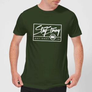 Stay Strong Est. 2007 Men's T-Shirt - Forest Green