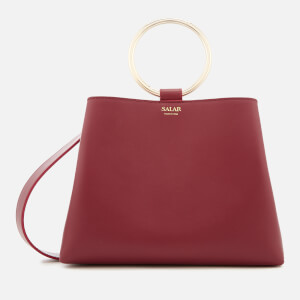 SALAR Women's Polly Tote Bag - Ruby