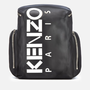 KENZO Men's Calfskin Backpack - Black