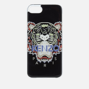 KENZO Men's Tiger Silicone iPhone 7/8 Case - Black
