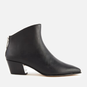 DKNY Women's Bason Heeled Ankle Boots - Black