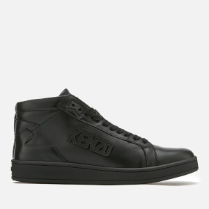 KENZO Men's Tennix High Top Trainers - Black