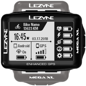 Lezyne Mega XL GPS Cycle Computer