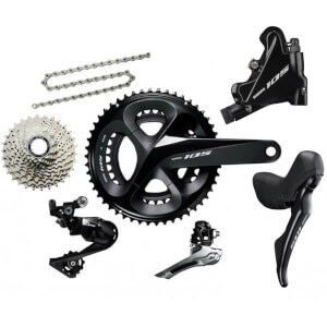 Shimano 105 R7020 11 Speed Groupset - Hydraulic Disc Brake
