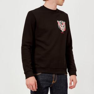 Versace Jeans Men's Logo Sweatshirt - Nero