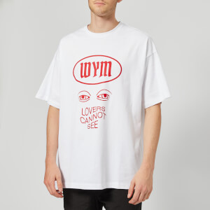 Wooyoungmi Men's Lovers Cannot See T-Shirt - White