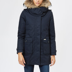 Woolrich Women's Scarlett Eskimo Coat - Dark Navy