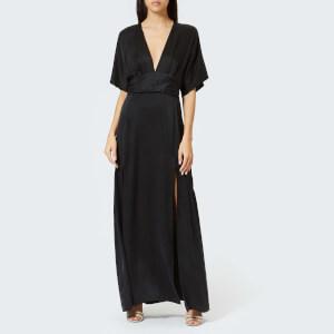 Bec & Bridge Women's Vida Plunge Maxi Dress - Black
