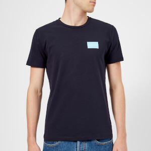 Calvin Klein Jeans Men's Institutional Logo Slim Stretch T-Shirt - Night Sky