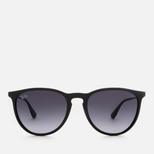 Ray-Ban Erika Wayfarer Sunglasses - Rubber Black