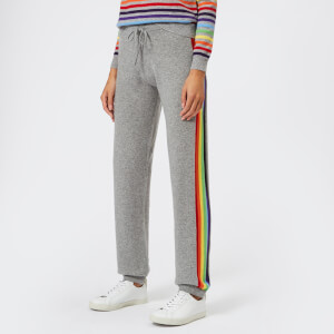 Madeleine Thompson Women's Rainbow Joggers - Grey