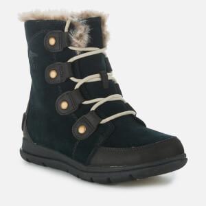Sorel Women's Explorer Joan Hiker Style Boots - Black Dark Stone: Image 2