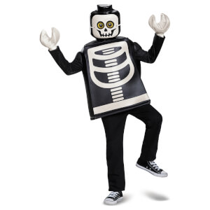 LEGO Iconic Kids Skeleton Classic Halloween Fancy Dress - Black