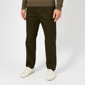 A.P.C. Men's Terry Trousers - Military Khaki