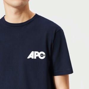 A.P.C. Men's Burnette T-Shirt - Dark Navy: Image 4