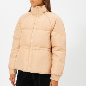 Ganni Women's Whitman Puffa Jacket - Hazelnut