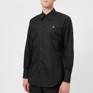 Vivienne Westwood Men's Firm Poplin Classic Shirt - Black