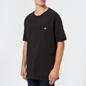 Vivienne Westwood Men's Organic Oversized Jersey T-Shirt - Black