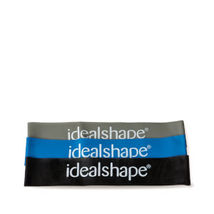 IdealShape Rubber Booty Bands