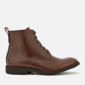 PS by Paul Smith Men's Hamilton Leather Lace-Up Boots - Dark Brown