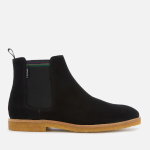 PS Paul Smith Men's Andy Suede Crepe Sole Chelsea Boots - Black