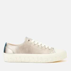 Paul Smith Women's Thea Rabbit Vulcanised Trainers - Silver