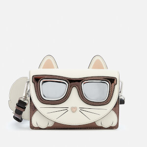 Karl Lagerfeld Women's Ikonik Choupette Cross Body Bag - Multi