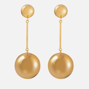 JW Anderson Women's Spheres Drop Earrings - Gold