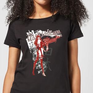 T-Shirt Femme Elektra Assassin - Marvel Knights - Noir