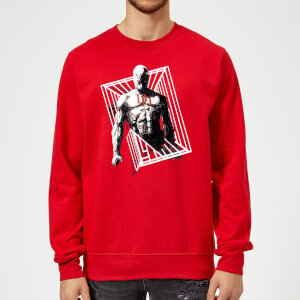Marvel Knights Daredevil Cage Sweatshirt - Red