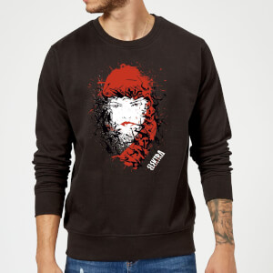 Marvel Knights Elektra Face Of Death Sweatshirt - Black