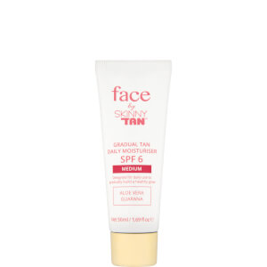 Face by Skinny Tan Gradual Tan Daily Moisturiser -kosteusvoide, Medium 50ml