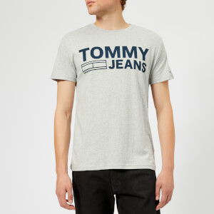 Tommy Jeans Men's TJM Essential Logo T-Shirt - Grey