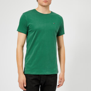 Tommy Jeans Men's TJM Essential Short Sleeve T-Shirt - Hunter Green
