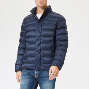 Tommy Jeans Men's TJM Light Down Jacket - Black Iris