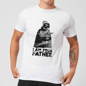 Camiseta Star Wars Darth Vader I Am Your Father Sketch - Hombre - Blanco