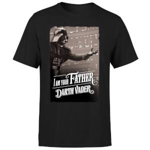T-Shirt Star Wars Homme Dark Vador À Bras Ouverts Je Suis Ton Père - Noir