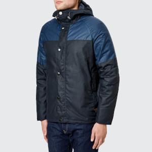 Barbour Men's Beacon Aira Wax Jacket - Navy