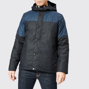 Barbour Men's Beacon Aira Wax Jacket - Navy
