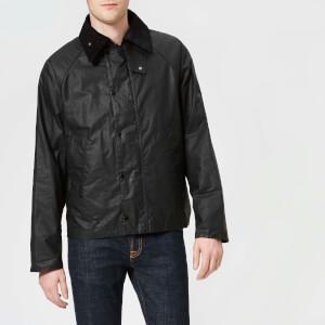 Barbour X Engineered Garments Men's Graham Wax Jacket - Black