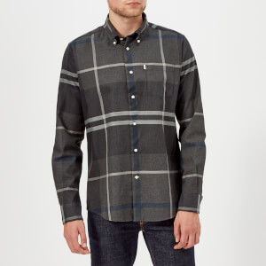 Barbour Men's Dunoon Long Sleeve Shirt - Graphite
