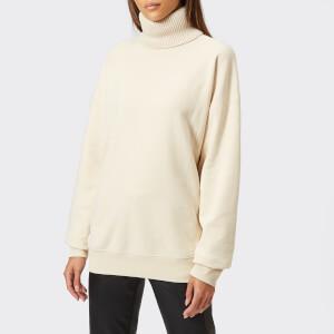 Helmut Lang Women's Turtle Neck Sweater - Canvas