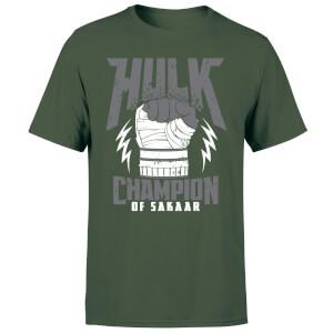Marvel Thor Ragnarok Hulk Champion Men's T-Shirt - Forest Green