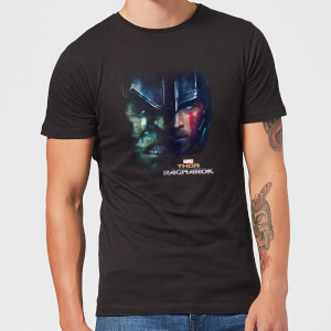 Marvel Thor Ragnarok Split Face T-shirt - Zwart
