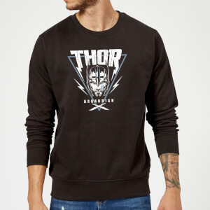 Marvel Thor Ragnarok Asgardian Triangle Sweatshirt - Black