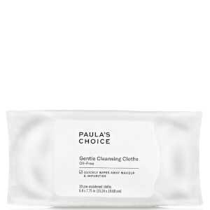 Paula's Choice Gentle Cleansing Cloths (30 Pieces)