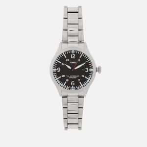 Timex Men's Waterbury Traditional Stainless Steel Watch - Stainless Steel/Black