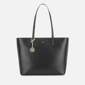 DKNY Women's Bryant Large Tote Carryall Bag - Black/Gold