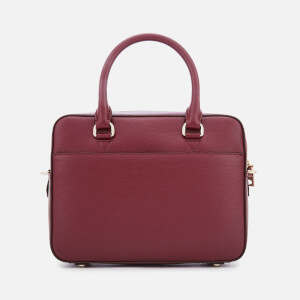 DKNY Women's Bryant Zip Satchel - Blood Red
