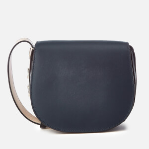 DKNY Women's Bedford Saddle Cross Body Bag - Navy